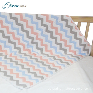 Große Musselin Swaddle Warm Embossed Baby Multilayer Decke