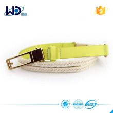 PU Rope Fancy Women Braided Belt