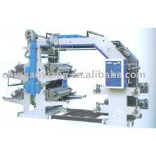 AXYT-4800 type économique machine d'impression flexographique à film plastique de quatre couleurs