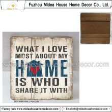 Distressed Wood Hanging /Art Minds Wood Plaques