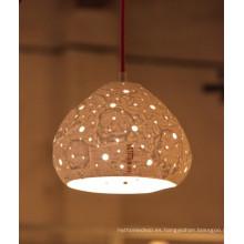 Luz de techo de porcelana
