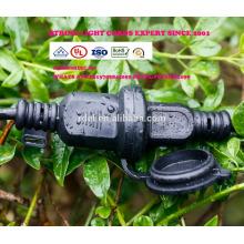 Extension cordon 21 ampoules imperméable à l'eau 48Ft EU UK Plug LED Globe décoratif extérieur guirlandes