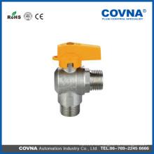 1 válvula de bola de gas Válvula de gas válvula tipo de válvula de gas con mango de mariposa