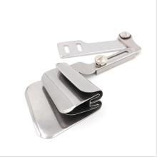 Industrial sewing machine coiler folder synchronizer lockstitch double seam coiler upper lower fold lower fold