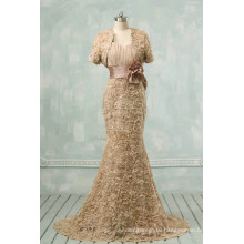 Champagne Sexy Mermaid Evening Dress