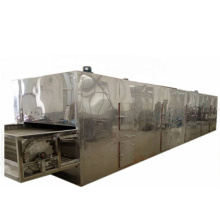 high capacity Multi-layer continuous or conveyor  belt hot air circulation drying machine for herb and herb root