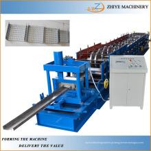 Construção de quadros de aço Mill U Purlin Roll formando máquina