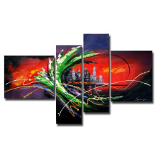 Cheap Leasted Building Oil Painting
