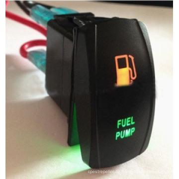 12V Ein-Aus-Spst-Fahrzeug-Druckknopf-Schalter-dynamischer Steuerschalter