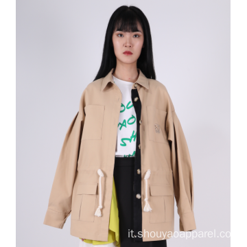 CAPPOTTO TRENCH DONNA OVERSIZE