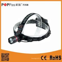 Poppast35b alumínio de alta qualidade CREE Xpg R5 recarregável LED farol lanterna