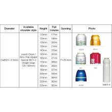 Latas de aerossol mais vendidas (BN-Aerosol can-Dia50mm)