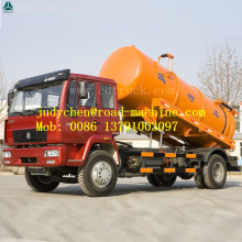 Camion d'aspiration des eaux usées HOWO 4x2 10000liter