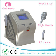 Dépoussiérage laser 2 en 1 et RF rajeunissement de la peau Elight + machine RF avec 2 Hanldes