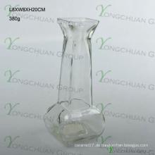 2015 Machine Made Rechteck Günstige Colored Glass Vase