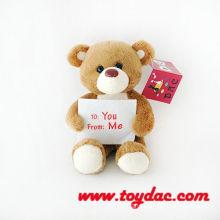 Plush Mini Signed Bear
