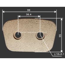 Copper  Clutch Button
