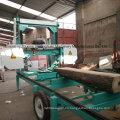 Sierras de cinta portátil Diesel banda de madera de Sierra de cinta sierra