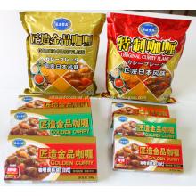 Dourado original caril em pó floco saco com sabor Popular melhor preço