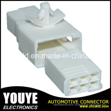 6p Female Electrical Automotive Plastic Cable Connector for Toyota Car