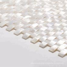 3D Mother Of Pearl Kitchen Backsplash Wall Sea Shell Mosaic Tile