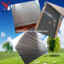 Écran de fenêtre de pliage en fibre de verre gris
