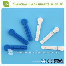 CE FDA ISO Genehmigt in China medizinische sterile Blut Lanzette gemacht