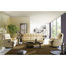 Living Room Sofa with Modern Genuine Leather Sofa Set (406)