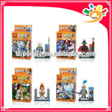 DIY soldiers 8 models mixed little figures mini brick toy factory