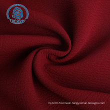 Golden Supplier Knitted 95% Polyester 5% Spandex Dress Scuba Crepe Textile Fabric