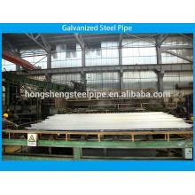 Tubo de acero galvanizado para agua potable