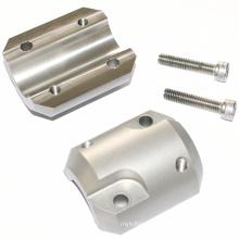 2018 Manufacturer Mass Production 6061 6063 Aluminum Color Anodized Dual Hose Clamp