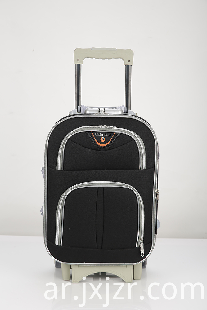 Expandable Softside Spinner Carryon Luggage