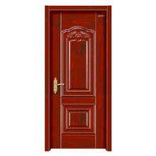 Puerta de madera de acero puerta interior para la habitación