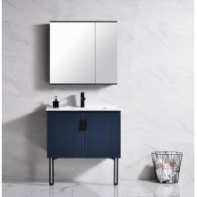 Chaozhou aluminum bathroom cabinet with mirror