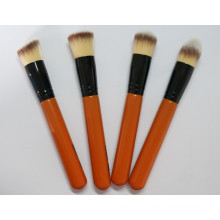 Top Quality 4PCS Wooden Material Professional Makeup Brush Set