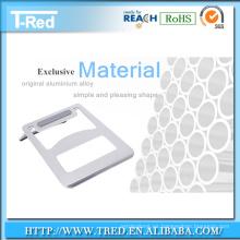 Soporte ajustable del cuaderno del ángulo de alta calidad para la computadora portátil del tamaño todo