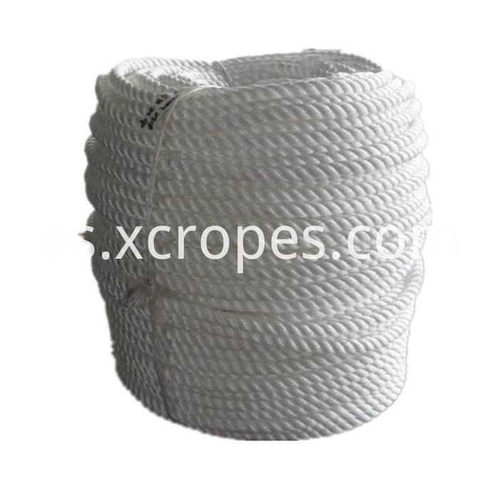 PP Rope White Mooring Rope_