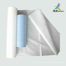 Nonwoven bed sheet ,disposable beauty salon bed sheet pre-cutting