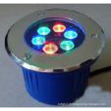 Éclairage extérieur LED Éclairage souterrain RVB LED