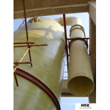Tubos de fibra de vidro para indústria química