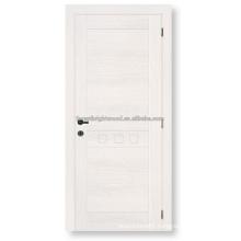 MDF board veneered wood panel door design