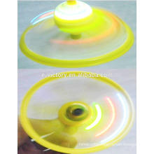 Christmas Gift Flashing Led Frisbee Magic Outdoor Children Toy Led Flying Saucer DisK UFO Kid Toy