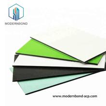 Painel de plástico de alumínio de fluorocarbono de excelente suavidade
