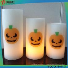 Hallowmas Decoration Flameless Candle Shape LED Lamp