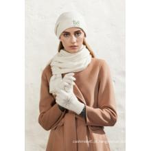 mais vendido chapéu de gorro tecido fabricado na China