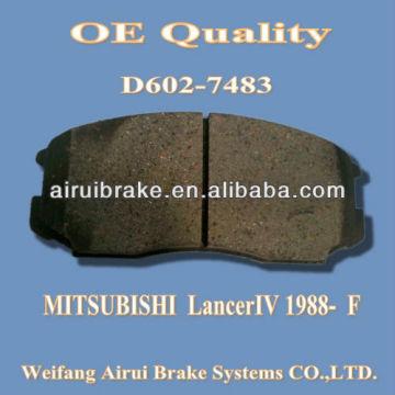 D602 Mitsubishi brake pad for Lancer IV 1998-F