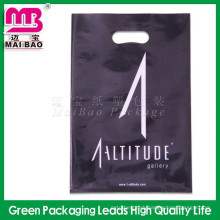 Customized LDPE and HDPE Cheap Die Cut Patch Handle Plastic Retail Bags
