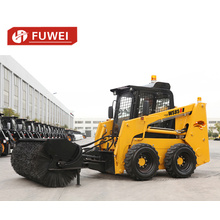 Skid Steer Loader With Various Attachment