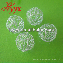 Christmas Wire Ball, Silver Wire Ball